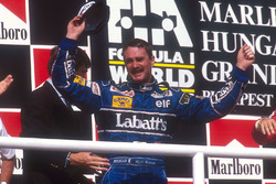 2. und Weltmeister: Nigel Mansell, Williams