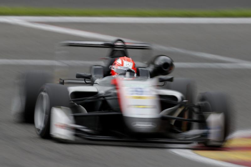 Микита Мазепін, Hitech Grand Prix, Dallara F317 - Mercedes-Benz