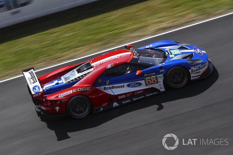 LMGTE-Pro: #68 Ford Chip Ganassi Racing, Ford GT