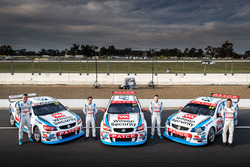 Garth Tander, James Goldwin, James Moffat, Richard Muscat, Garry Rogers Motorsport