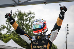 Race winner René Binder, Lotus