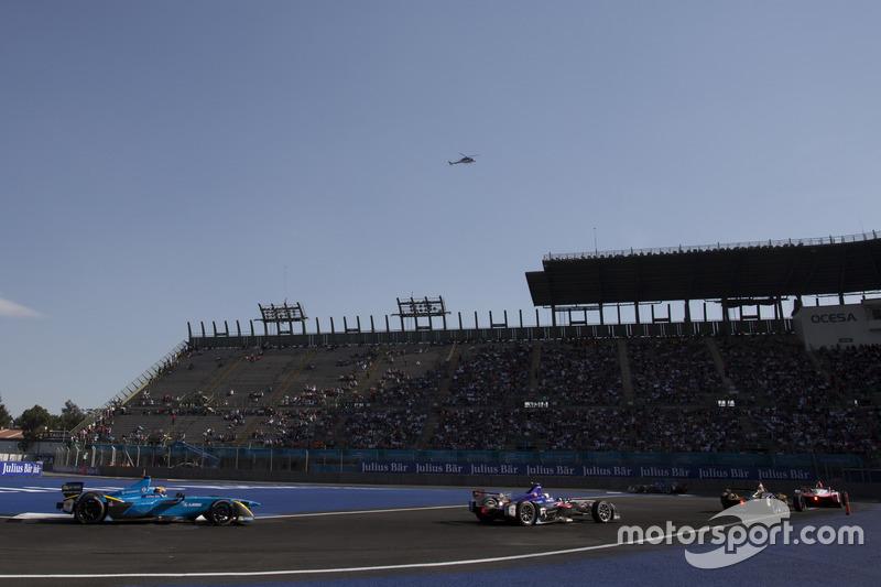 Sébastien Buemi, Renault e.Dams. e Sam Bird, DS Virgin Racing