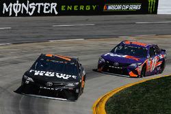 Martin Truex Jr., Furniture Row Racing, Toyota; Denny Hamlin, Joe Gibbs Racing, Toyota