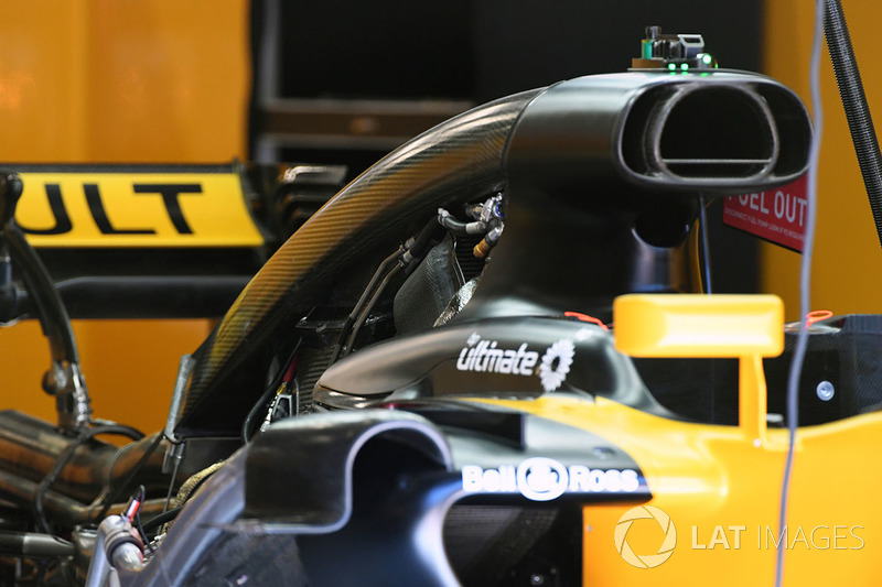 Toma de aire del Renault RS17