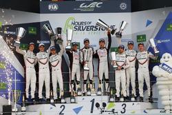 Podium: 1. #8 Toyota Gazoo Racing, Toyota TS050 Hybrid: Anthony Davidson, Sébastien Buemi, Kazuki Nakajima; 2. #2 Porsche Team, Porsche 919 Hybrid: Timo Bernhard, Earl Bamber, Brendon Hartley; 3. #1 Porsche Team, Porsche 919 Hybrid: Neel Jani, Andre Lotter