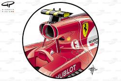 Ferrari SF70H airbox