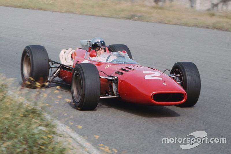 1966-1967: Ferrari 312 (два подиума, 2-е место в КК в 1966-м)