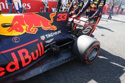 Max Verstappen, Red Bull Racing RB13 rear detail