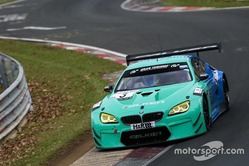 #3 Falken Motorsport, BMW M6 GT3: Alexandre Imperatori, Marco Seefried