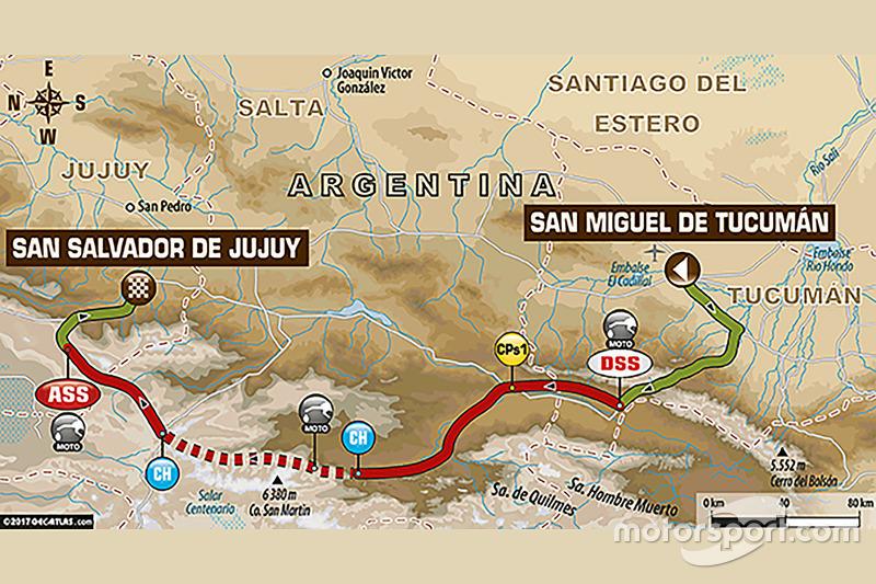 3. Etappe: San Miguel de Tucuman - Jujuy