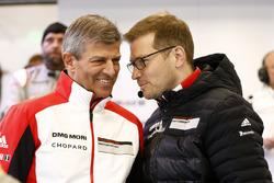Fritz Enzinger, Andreas Seidl, Team Principal Porsche Team
