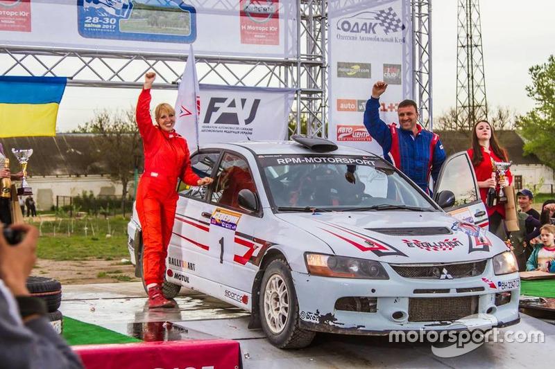 Ралі України (абсолют, 4WD Open, перший пілот): Руслан Топор (Україна)