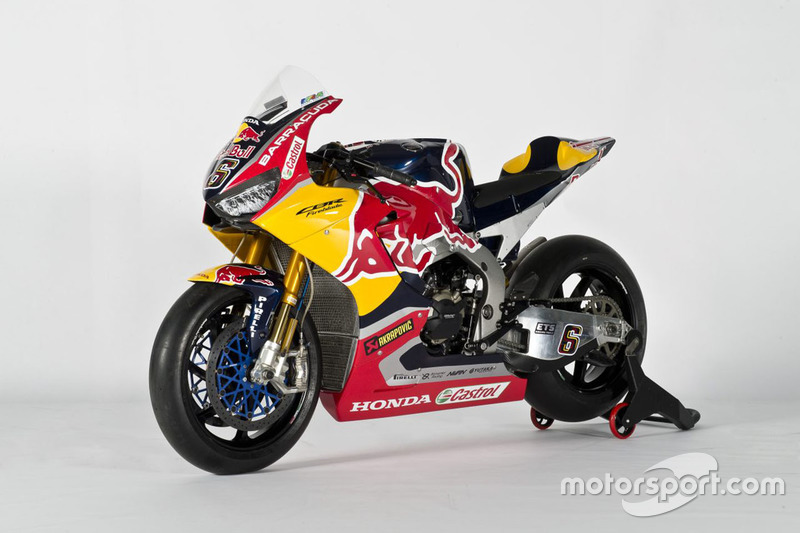La moto di Stefan Bradl, Honda World Superbike Team