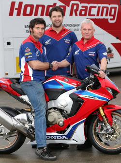 Guy Martin, Honda Racing with Neil Tuxworth, Team Manager