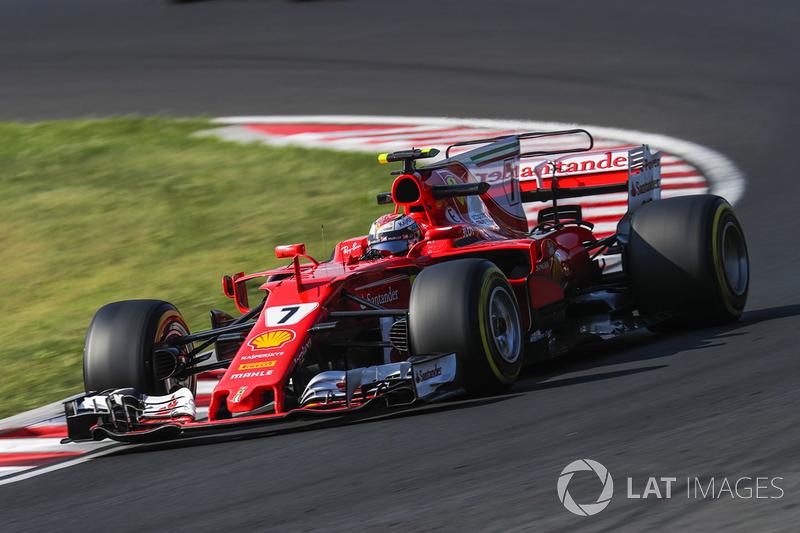 5. Kimi Räikkönen, Ferrari SF70H