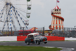 AC/DC frontman Brian Johnson rolls his Austin A35