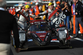 LMP2 winners #38 Jackie Chan DC Racing Oreca 07 Gibson: Ho-Ping Tung, Gabriel Aubry, Stephane Richelmi