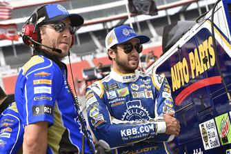 Chase Elliott, Hendrick Motorsports, Chevrolet Camaro, mit Alan Gustafson
