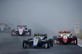 Enaam Ahmed, Hitech Bullfrog GP Dallara F317 - Mercedes-Benz, Mick Schumacher, PREMA Theodore Racing Dallara F317 - Mercedes-Benz