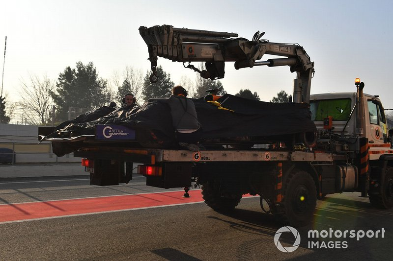 Mobil Lando Norris, McLaren MCL34