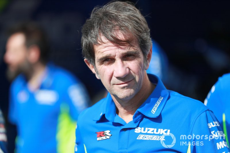 Davide Brivio, Team manager, Team Suzuki MotoGP