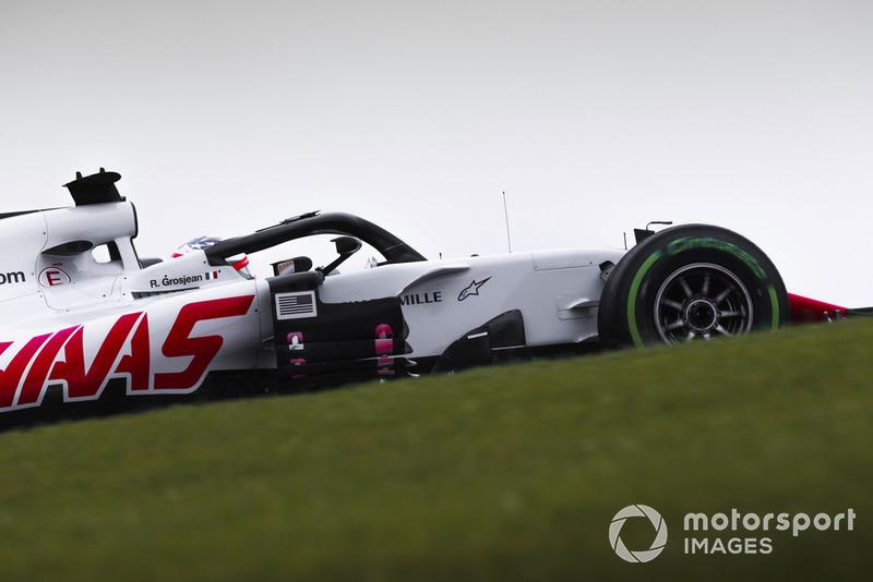 9. Romain Grosjean, Haas F1 Team VF-18