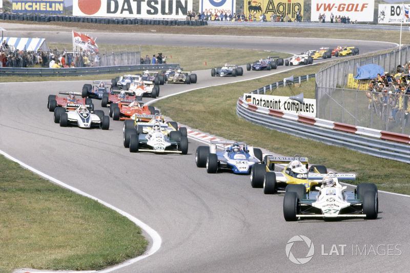 1980 год: лидирует Алан Джонс, Williams FW07B-Ford