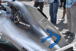 Mercedes AMG F1 W09 hood