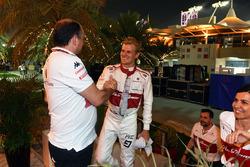 Marcus Ericsson, Sauber, Frederic Vasseur, Sauber, Team Principal