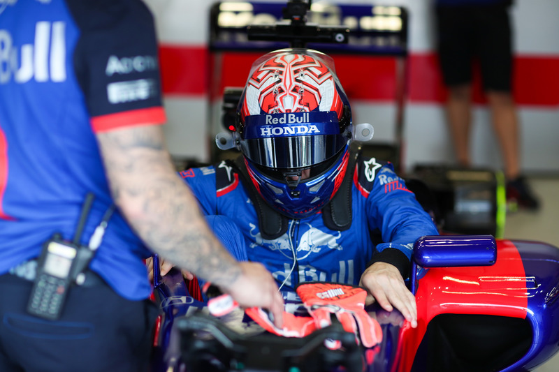 Marc Marquez, test con la Toro Rosso F1