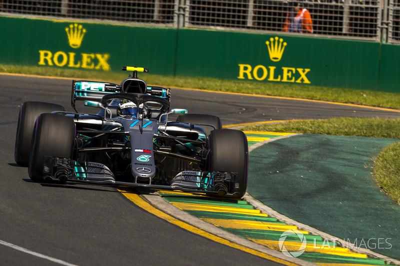 10. Valtteri Bottas, Mercedes-AMG F1 W09 *