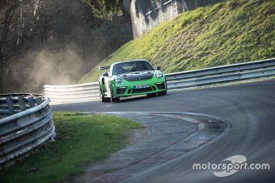 Ronderecord Porsche 911 GT3 RS