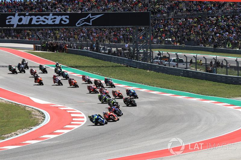 Andrea Iannone, Team Suzuki MotoGP leads