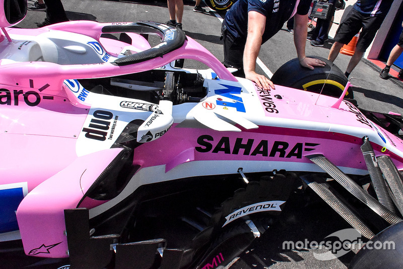 Force India VJM11 detail