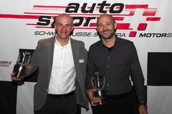 Sébastien Carron alla premiazione dell'ASS a Berna