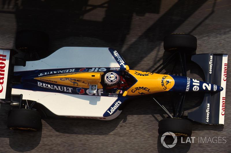9. El Williams FW15C de Fórmula 1