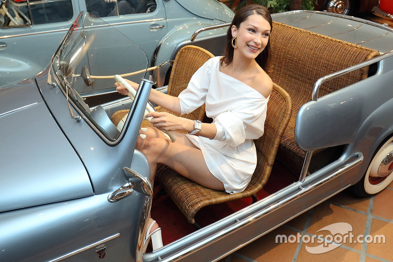 Гран При Монако: топ-модель Белла Хадид
