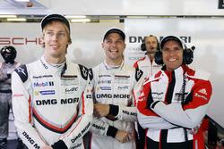 Timo Bernhard, Porsche Team, Brendon Hartley, Porsche Team, Earl Bamber, Porsche Team
