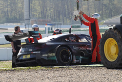 Lucas Auer, Mercedes-AMG Team HWA, Mercedes-AMG C63 DTM en la grava