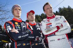 Thierry Neuville, Hyundai Motorsport, Nicolas Gilsoul, Hyundai Motorsport, Kris Meeke, Citroën World Rally Team