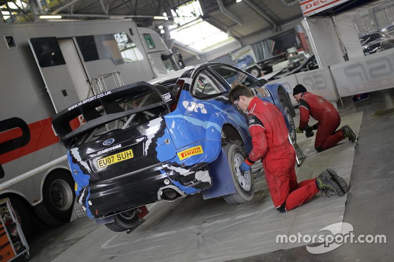Ford Focus WRC di Luciano Cobbe