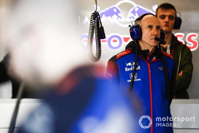 Franz Tost, director del equipo, Scuderia Toro Rosso