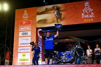 Podium: Yamaha Official Rally Team: Xavier De Soultrait