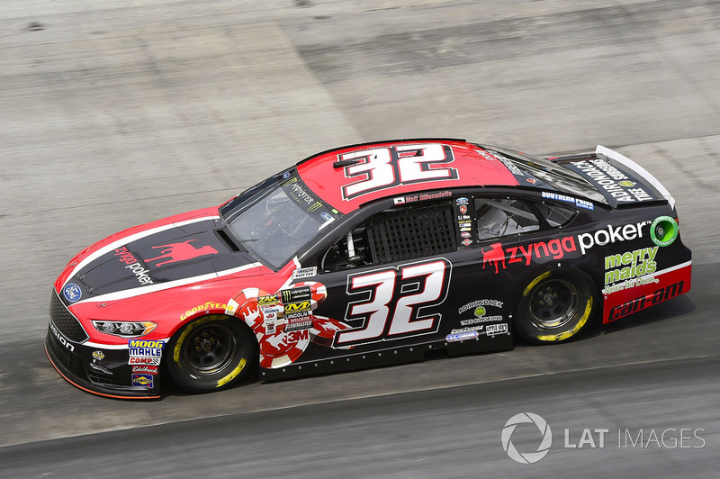 29. Matt DiBenedetto, Go FAS Racing, Ford Fusion Zynga Poker