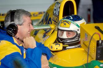Pat Symonds, Yarış Mühendisi ve Michael Schumacher, Benetton B193B