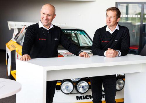 Alineación de Audi para el Dakar 2022