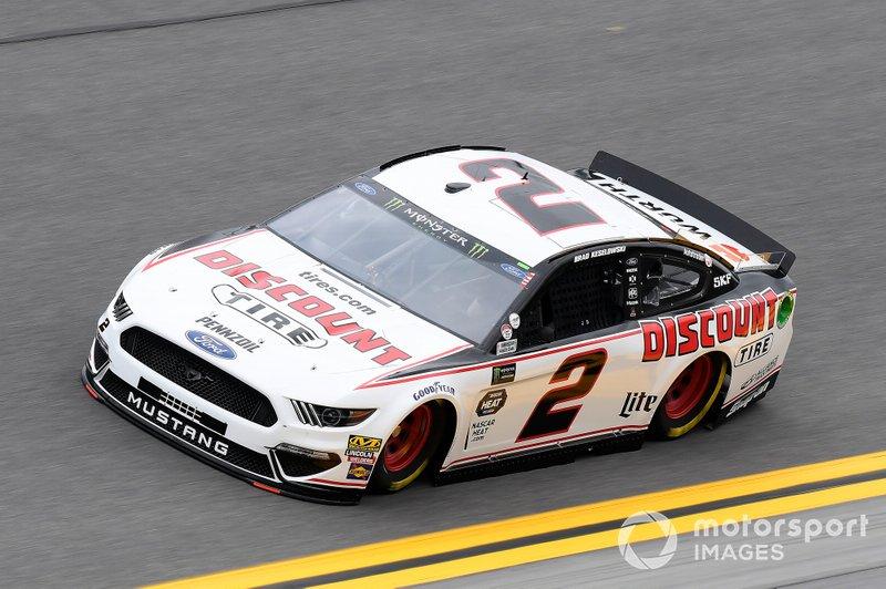 #2: Brad Keselowski, Team Penske, Ford Mustang