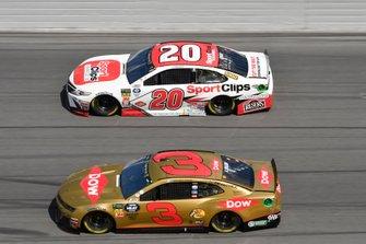 Erik Jones, Joe Gibbs Racing, Toyota Camry Sport Clips, Austin Dillon, Richard Childress Racing, Chevrolet Camaro Dow