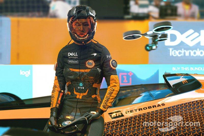 Visi F1 2050 dari McLaren