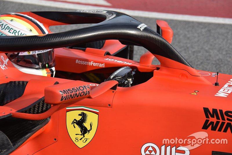 Détails techniques Ferrari